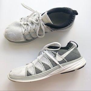 Men's Nike Fly Knit Lunar 2 Wolf Grey Black